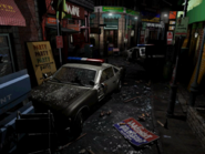 Resident Evil 3 background - Uptown - boulevard g2 - R11E06
