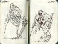 Noga-Skakanje concept art 5