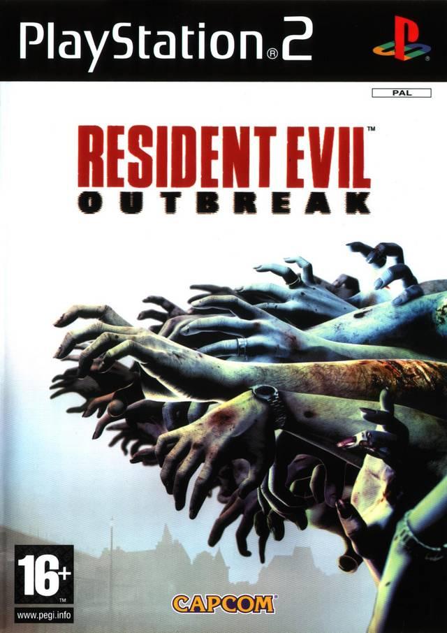 Resident Evil Outbreak Logo Outbreak1 eu