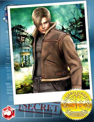 File:RE4 Leon solo Team Surivive.jpg