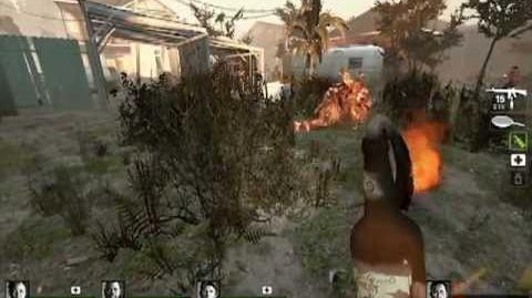 Resident Evil 6 Napad in Left 4 Dead 2