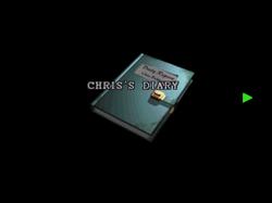 RE2 CHRIS's diary 01