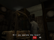 Resident Evil Outbreak items - Forklift Key activate