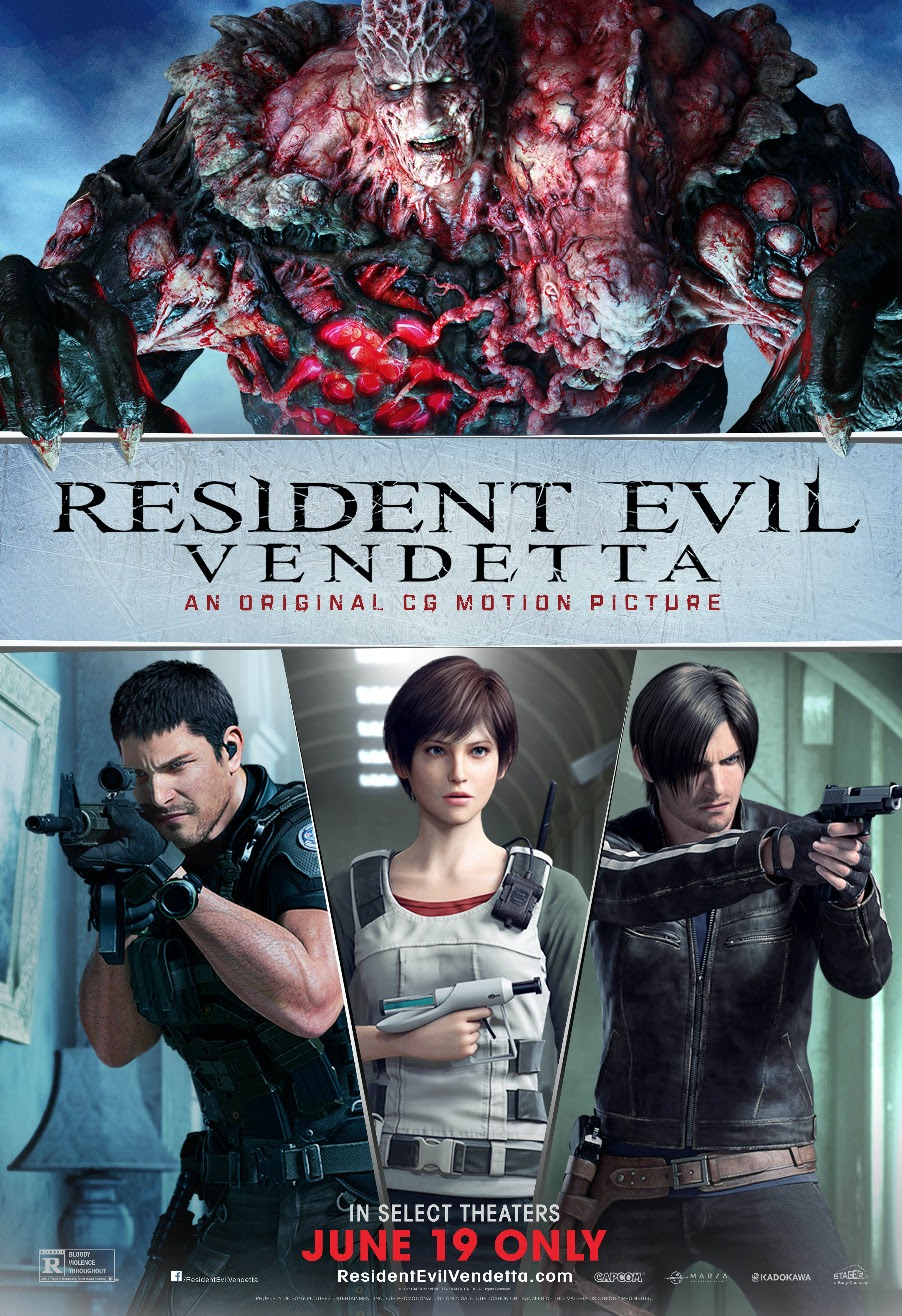 Resident Evil: Vendetta / Biohazard: Vendetta (2017)