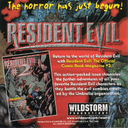 Resident Evil Original Soundtrack Remix - US booklet back cover