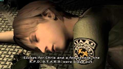 Resident Evil The Umbrella Chronicles all cutscenes - Mansion Incident 3 ending