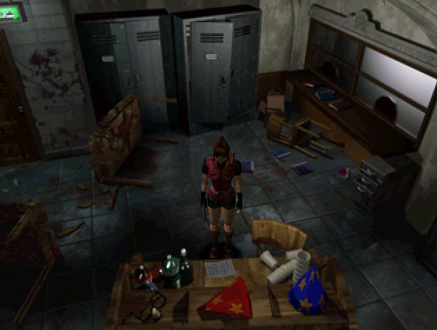 File:RE2 Memo to LEON location.png