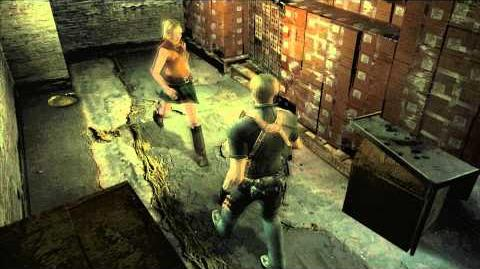 Resident Evil 4 all cutscenes - Chapter 5-1 ending