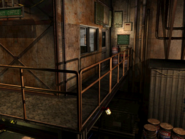Resident Evil 3 background - Uptown - warehouse l - R10105