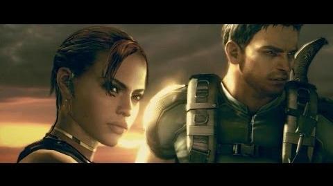 """Resident Evil 5 - Cutscenes 43 """"The Tanker"""""""
