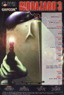BIOHAZARD 3 Supplemental Edition VOL.1 - back cover