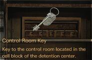 Control Room Key description