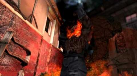 Resident Evil 3 Nemesis cutscenes - Unstoppable Nemesis