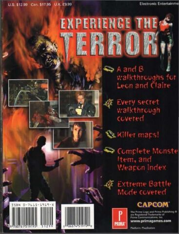 File:Resident Evil 2 Prima's Official Strategy Guide Back Page.jpg