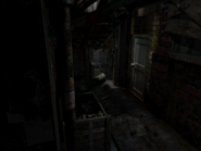 Resident Evil 3 background - Uptown - boulevard b2 - R11E00