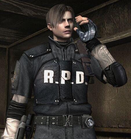File:Resident Evil 4 Leon Kennedy RPD Costume.jpg