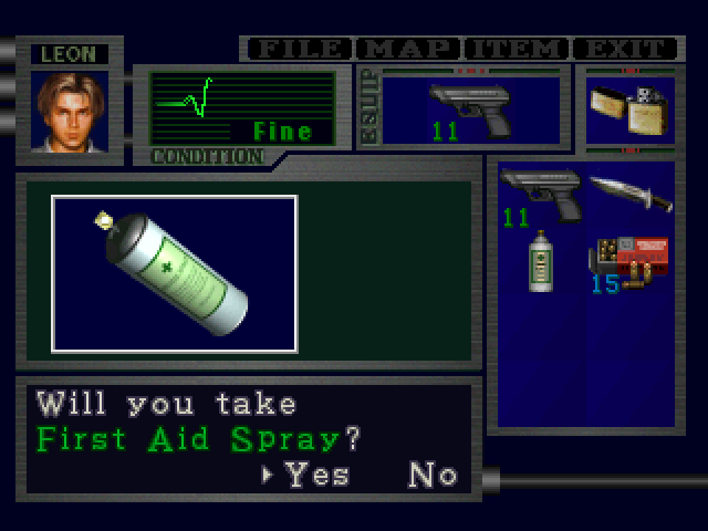 File:RE2 First Aid Spray pickup 01 proto.png