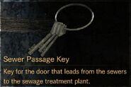 Sewer Passage Key description