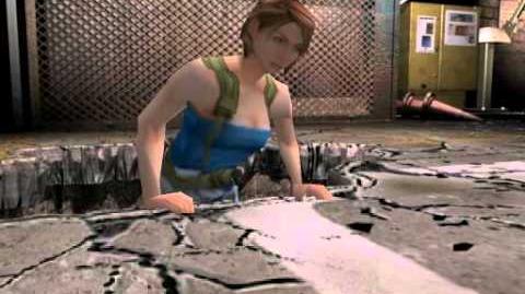 Resident Evil 3 Nemesis cutscenes - Free Falling (Climb up)