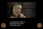 RE4 mobile edition - Rescue Ashley cutscene 4 part 3