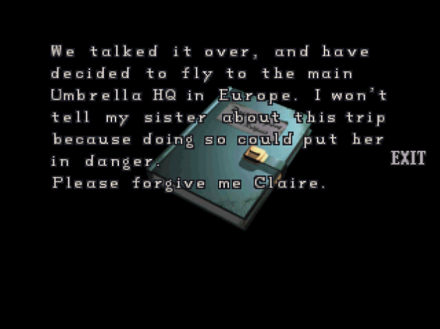 File:RE2 CHRIS's diary 06.png