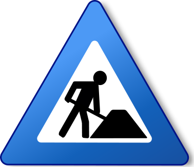 File:Ambox warning blue construction.png