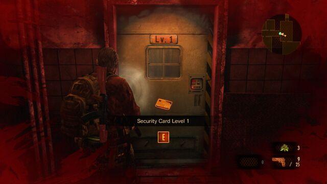 File:Security Card Level 1 locked door.jpg
