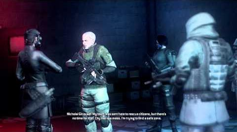 Resident Evil Operation Raccoon City cutscenes - Intersection with Nicholai (Bertha and Beltway)