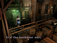 Resident Evil 3 Nemesis screenshot - Uptown - Warehouse examine 08