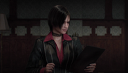 Resident Evil Damnation - Ada presenting her reports to Svetlana and Government officials