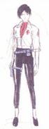 Ada Wong BIO 1.5 alternate costume concept art 1