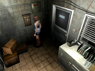 Resident Evil 3 Nemesis screenshot - Uptown - Warehouse office pickup 01