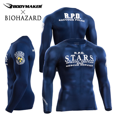 File:BIOHAZARD BM GEAR Long Sleeve S.T.A.R.S. M-size