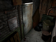 Resident Evil 3 background - Uptown - warehouse back alley a2 - R11D00