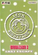 BIOHAZARD 3 LAST ESCAPE VOL.13 - back cover