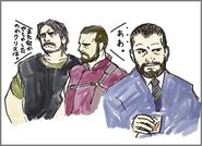 BIO HAZARD - Barry Burton and Enrico Marini illustration - 02 illust2