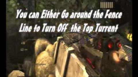 Resistance 2 Axbridge Glitch 2011 *New* Going around, over and through