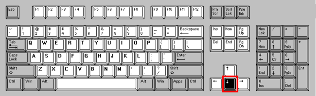 Keyboarddown