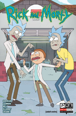 Rick and Morty 3 cover 1