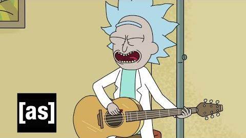 Tiny Rick Song Rick and Morty Adult Swim