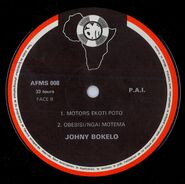 Le Formidable Johny Bokelo & Orchestre Conga (Afriqu'Music 008) L1