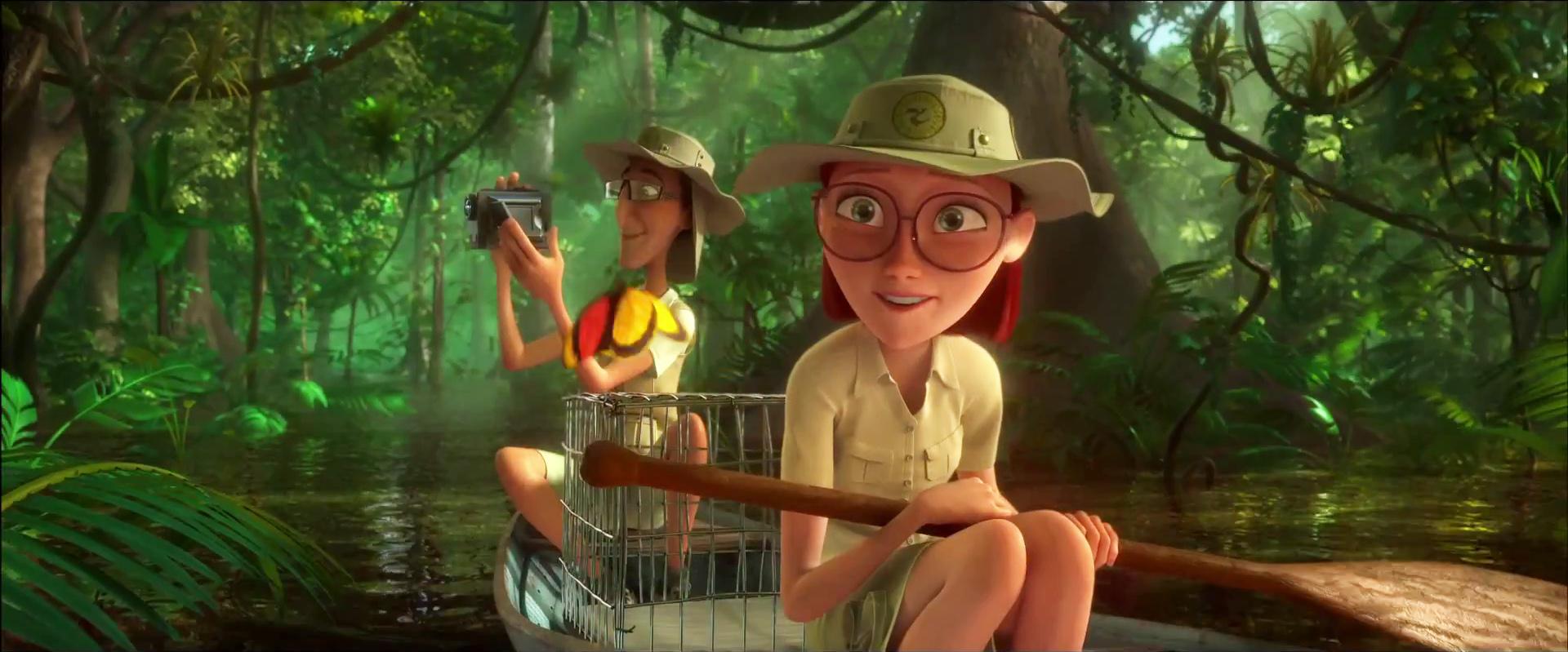 Image rio 2 linda and tulio in the amazon jungle jpg rio wiki
