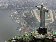 Rio de janeiro christ the redeemer statue wallpaper