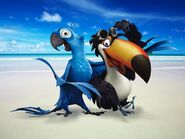 Blu and Rafael