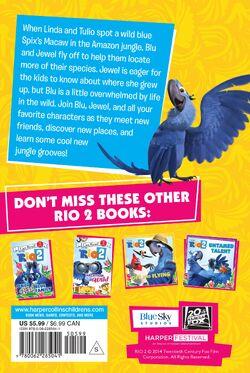 Rio 2 Junior Novel back