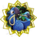 Gold Badge Macaw
