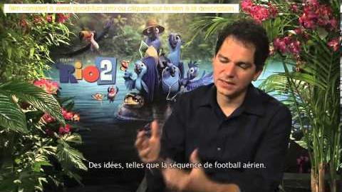 Rio 2 Interview to Carlos Saldanha