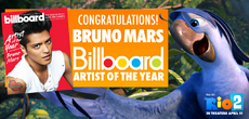 Bruno Mars (Roberto) Billboard Artist of the Year 2013