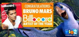 Bruno Mars (Roberto) Billboard Artist of the Year 2013