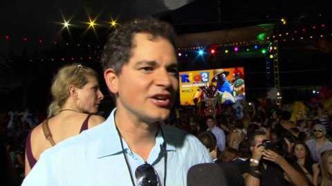Rio 2 Director Carlos Saldanha Miami Movie Premiere Interview